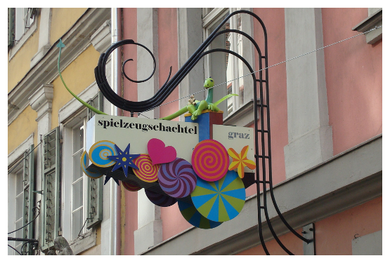 Spielzeugschachtel Graz